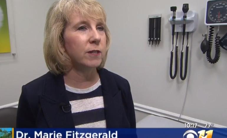 Dr. Marie Fitzgerald CBS 11 Aparna Zalani