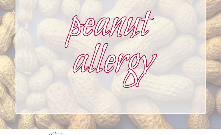 peanut allergy on the rise