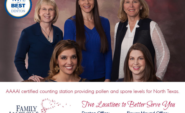 Vote Family Allergy and Asthma Care Best of Denton Texas