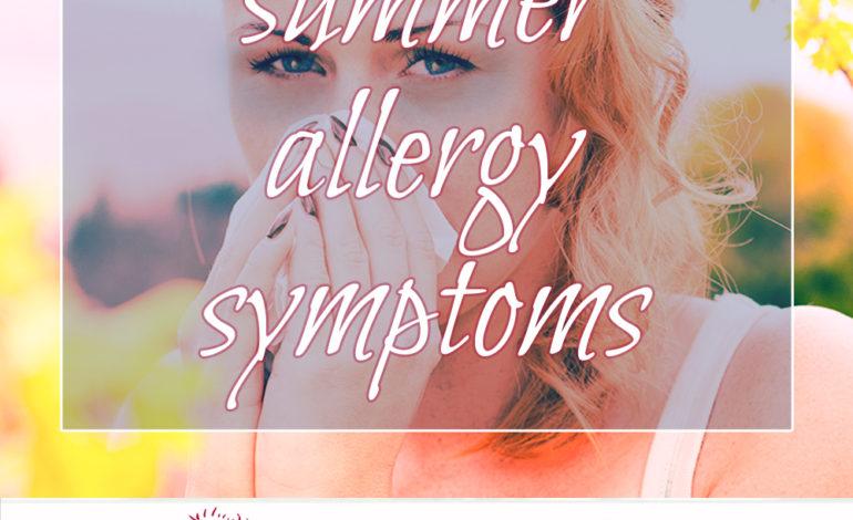 Summer Allergy Symptoms