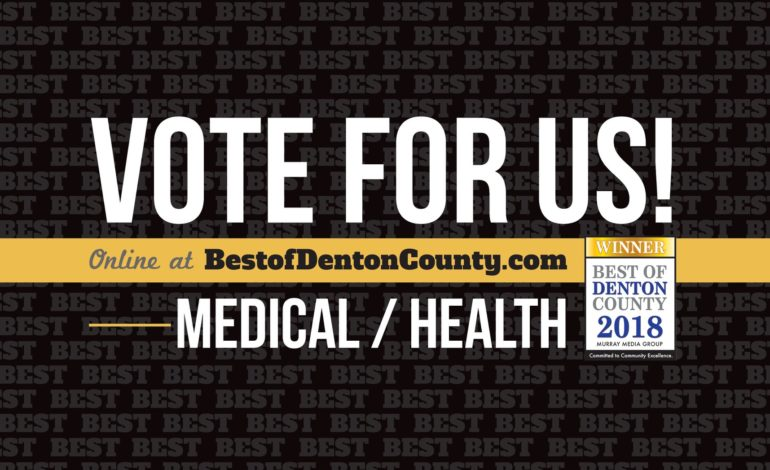Family Allergy and Asthma Care Vote for Us Best of Denton 2018