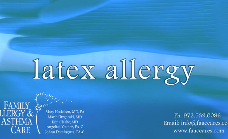 latex allergy allergies network family allergy and care
