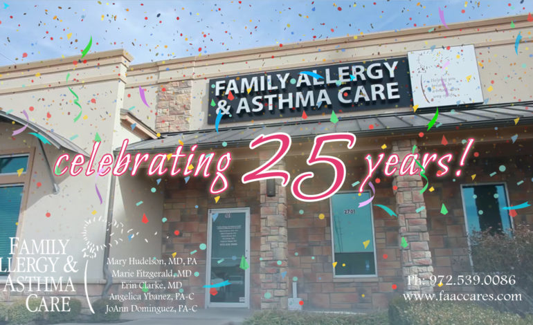 Family Allergy and Asthma Care Celebrating 25 years