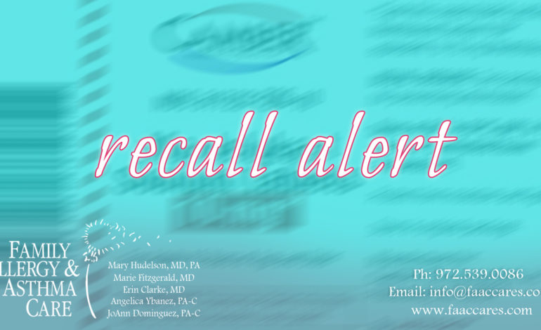 "The U.S. Food and Drug Administration is warning consumers and health care professionals about a voluntary recall of one lot of Montelukast Sodium Tablets – lot number MON17384, expiration 12/31/2019 – by Camber Pharmaceuticals, Inc., Piscataway, N.J. Sealed bottles labeled as montelukast sodium tablets, 10 milligram, 30-count bottle from Camber were found to instead contain 90 tablets of Losartan Potassium Tablets, 50 mg. This tablet mix-up may pose a safety risk as taking losartan tablets when not prescribed has the potential to cause renal dysfunction, elevated potassium levels and low blood pressure. This risk is especially high for pregnant women taking the allergy and asthma medication montelukast because losartan, which is indicated to treat high blood pressure, could harm or kill the fetus. The FDA recommends that consumers who have this recalled product should contact their health care provider or pharmacist immediately. This recall is not related to the recent valsartan recalls that were due to an impurity, N-nitrosodimethylamine (NDMA). ""We want to ensure that patients who take montelukast are aware of this recall due to the serious risks associated with taking losartan in its place,"" said Donald D. Ashley J.D., director of the office of compliance in the FDA's center for drug evaluation and research. ""Patients who take prescription drugs expect and deserve to have the medication their doctor prescribed."""