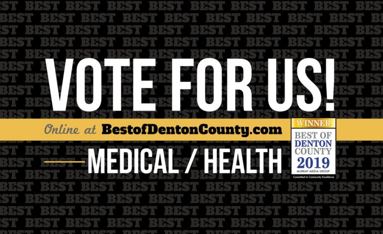 Vote Family Allergy and Asthma Care Dr. Mary Hudelson Best of Denton County 2019
