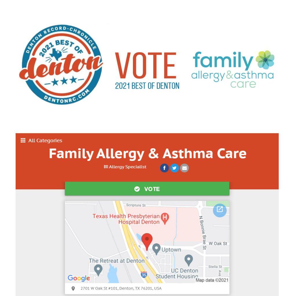 best of denton 2021 alergist allergy specialist healthy living